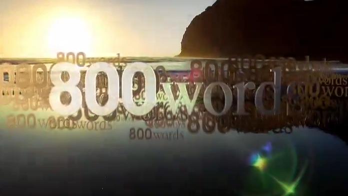 800 words tv series