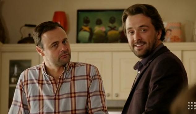 House Husbands Alex and Kane