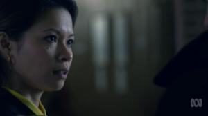 Actress Haiha Le