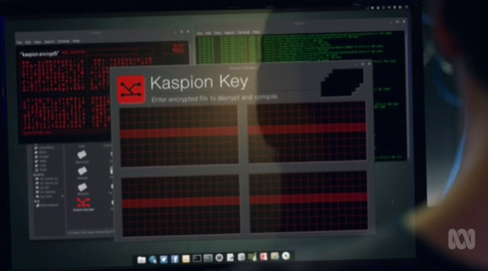 the Kaspion Key the code