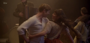 sidney and freda grantchester dancing